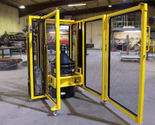 Bespoke Fabrication, Barrel Manipulators, Knowsley Engineering